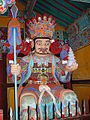Korea-Busan-Beomeosa 6217-07 Guardian of the North.JPG