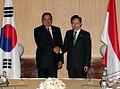 Korea-Indonesia summit talks on June 1,2009 (4345477868).jpg