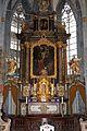 Kornelimünster, abbazia di san cornelio, interno, altare barocco 01.jpg