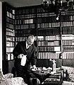 Kossuth Lajos tér 18., Király István irodalomtörténész, országgyűlési képviselő, a Magyar Tudományos Akadémia tagja. Fortepan 101064.jpg