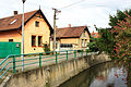 Kostomlaty nad Labem, Vlkava river.jpg