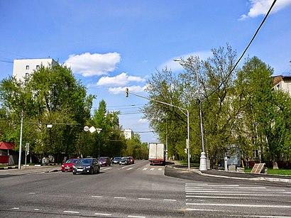 Как доехать до Большая Черёмушкинская Улица на общественном транспорте