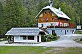 Kranjska Gora Mojstrana Vrata Aljažev dom 2011-08-26 727.jpg