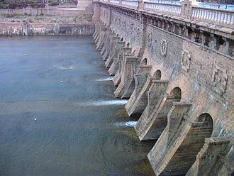 Krishna Raja Sagara - Image: Krishna raja sagara dam