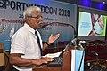 Kuntal Roy Delivering Lecture - Quality Training - SPORTSMEDCON 2019 - SSKM Hospital - Kolkata 2019-03-17 3402.JPG