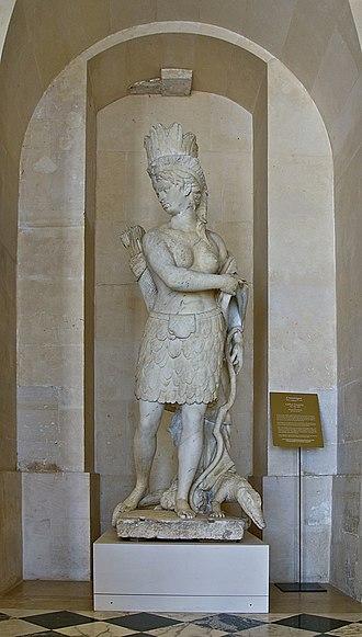 Gilles Guérin - Image: L'Amérique, Gilles Guérin Henri Emericq Versailles MR1872