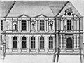 L'Architecture française (Marot) – Façade sur le quai de l'extrémité de la Galerie d'Apollon – Mauban 1944 Fig 16.jpg