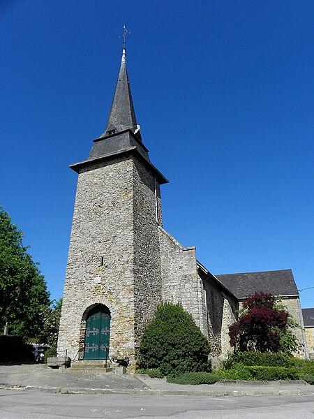 Église Saint-Martin de La Bigottière (53).