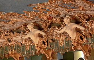 La Fenice - Detail of the decoration