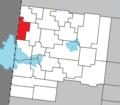 La Reine Quebec location diagram.png