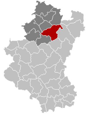 La Roche-en-Ardenne - Image: La Roche en Ardenne Luxembourg Belgium Map