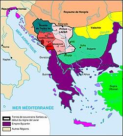 La Serbie du debut du regne de Lazar.jpg