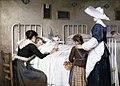 La visita de la madre al hospital, de Enrique Paternina García Cid (Museo del Prado).jpg