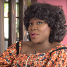 Omawumi Megbele during an interview in 2016
