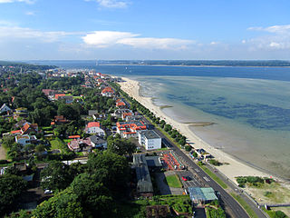 Laboe Place in Schleswig-Holstein, Germany