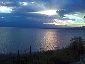 Lake Enriquillo - Lake Enriquillo seen from Las Caritas National Park, near La Descubierta