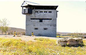Burgersdorp - Anglo-Boer War blockhouse in spring
