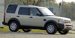 2006 (European) Land Rover Discovery (Series III)