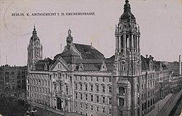 Landgericht, Amtsgericht, Autor unbekannt / Public domain