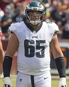 Johnson in 2017. No. 65 – Philadelphia Eagles 948b3dca1