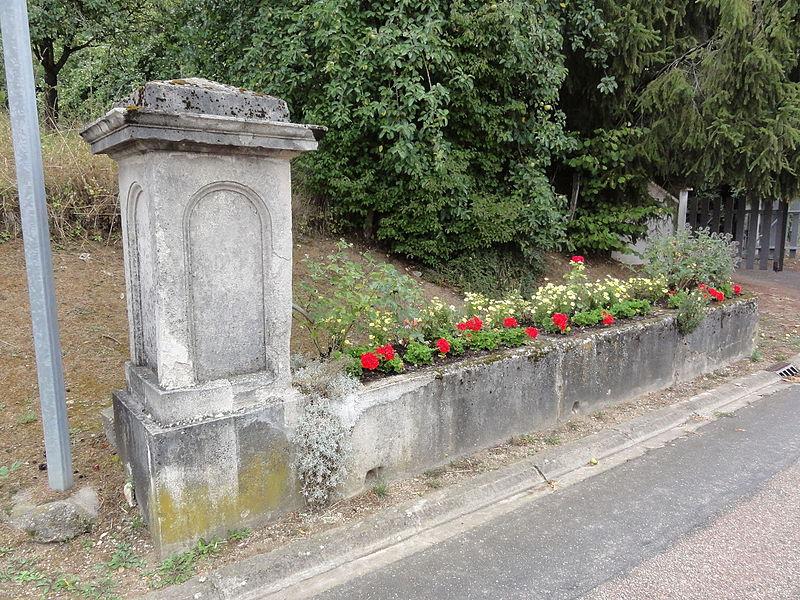 Laneuville-au-Rupt (Meuse) fontaine