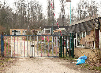 Langeleben - Entrance to the decaying Camp before demolition