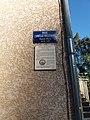 Largentière - Plaques Rue Camille Vielfaure et Maison du Consulat.jpg