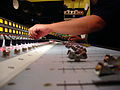 Larry Crane mixing on Rupert Neve Designs 5088 console, Jackpot! Recording Studio (Portland, Oregon).jpg