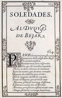 Soledades cover