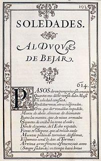 <i>Soledades</i> poem