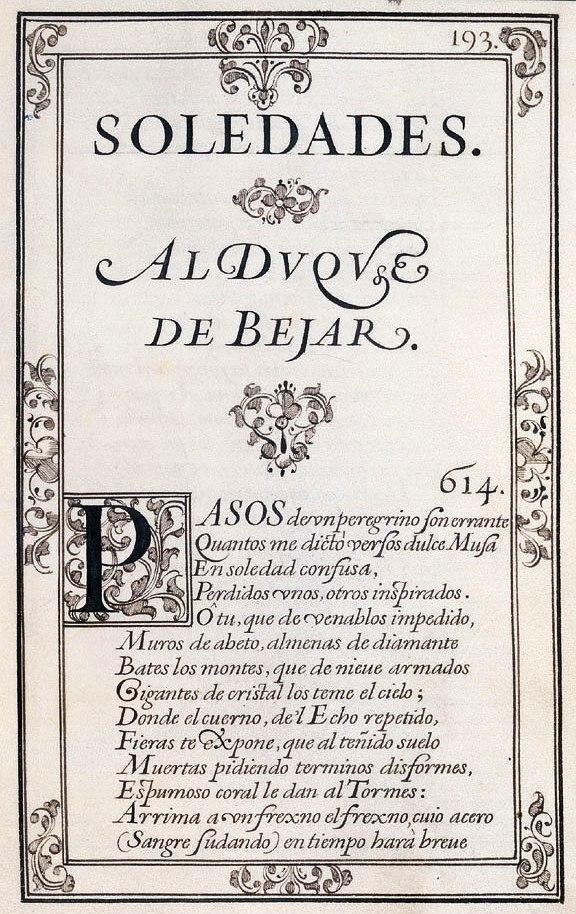 Las Soledades (Góngora)