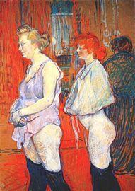 Lautrec rue des moulins, the medical inspection 1894.jpg