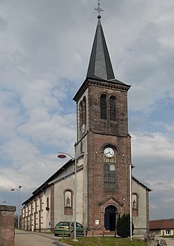 Laval-sur-Vologne, Eglise Sainte-Madeleine 2.jpg