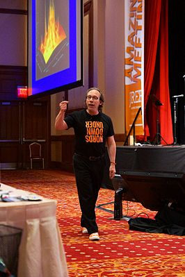 Lawrence Krauss op The Amaz!ng Meeting 2012.