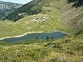 Le lac et les chalets de Lessy - panoramio.jpg