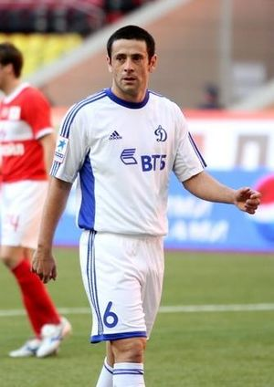 Leandro Fernández (footballer, born 1983) - With Dynamo Moscow in 2012