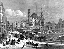 Leicester Square with the Alhambra formerly the Royal Panopticon ILN 1874.jpg