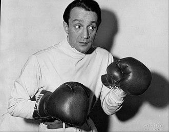 Leo Fuchs - Fuchs preparing for a role in 1949