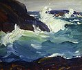 Leon Kroll - Crashing Waves, Ogunquit (1915).jpg
