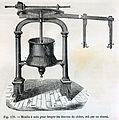 """Les merveilles de l'industrie, 1873 """"Moulin à noix pour broyer les écorcees de chêne, mû par un cheval"""". (4723626233).jpg"""