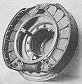 Les voitures des CFF montées sur pneumatiques Michelin Fig. 18. Eléments du frein à tambour.jpg
