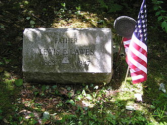 Lewis E. Lawes - The gravesite of Lewis E. Lawes