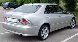 Lexus IS 300 rear 20080617.jpg