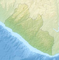 Mount Richard-Molard is located in Liberia