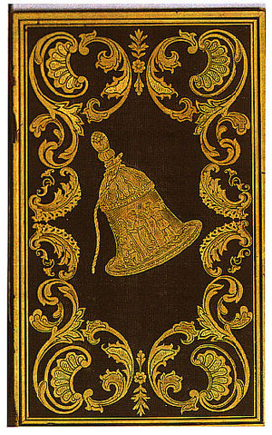 The Liberty Bell (annual) - an ornate The Liberty Bell cover from 1848