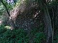 Liblín, opěrná zeď u pěšiny k Libštejnu (01).jpg