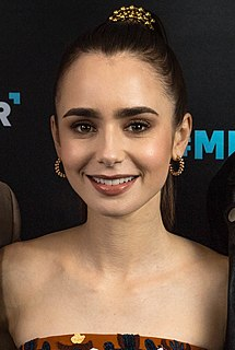 Lily Collins English-American actress, model, and writer