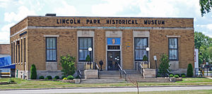 Lincoln Park, Michigan - Lincoln Park Post Office, now the historical museum