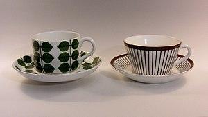 Gustavsberg porcelain - Image: Lindberg Bersa Spisa