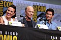 Lisa Joy, Ed Harris & James Marsden (36183555956).jpg